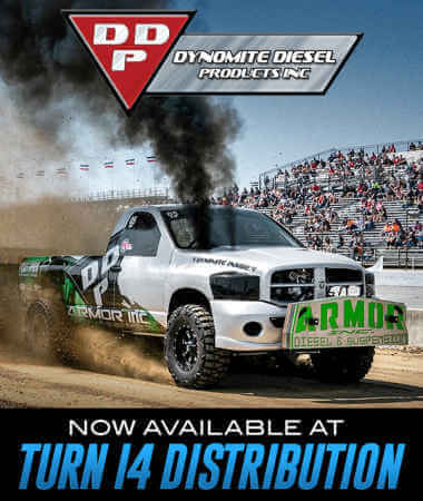 Dynomite Diesel Products at Turn 14 Distribution!
