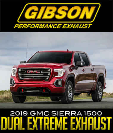 Gibson Dual Extreme Exhaust System: 2019 GMC Sierra