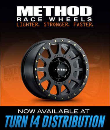 Method Race Wheels at Turn 14 Distribution!