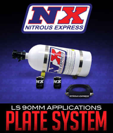 Nitrous Express Plate System: 90mm LS Applications