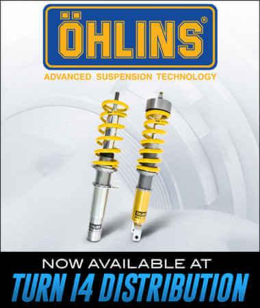 Öhlins Racing at Turn 14 Distribution!