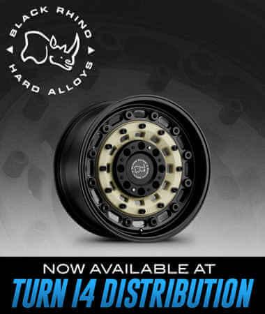 Black Rhino Hard Alloys at Turn 14 Distribution!