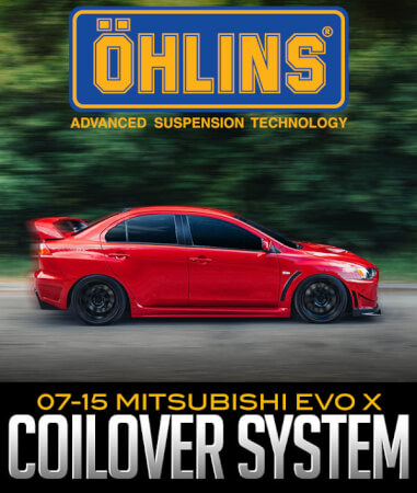 Öhlins Racing Road & Track Coilover System: Mitsubishi EVO X