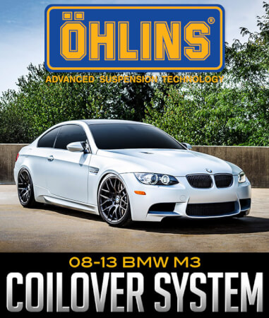 Öhlins Racing Road & Track Coilover System: 2008–2013 BMW M3
