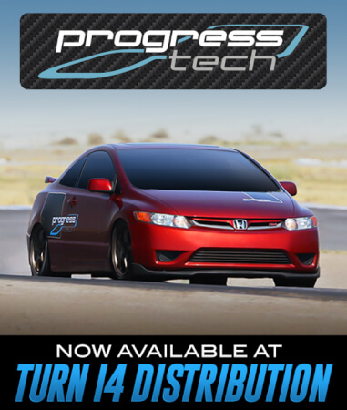 PROGRESS Technology Available at Turn 14 Distribution!