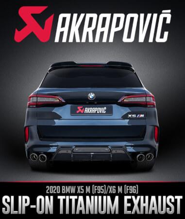 Akrapovič Slip-On Titanium Exhaust BMW X5 M (F95)/X6 M (F96)