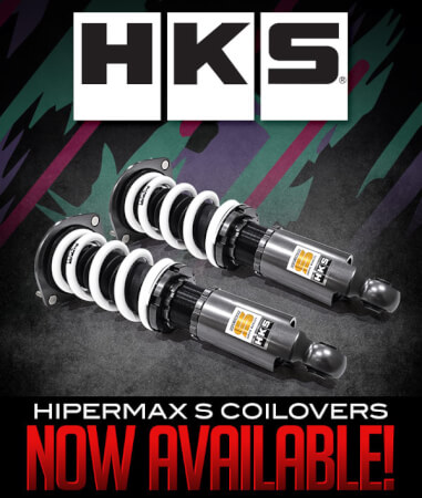 HKS HIPERMAX S Coilovers Available at Turn 14 Distribution!
