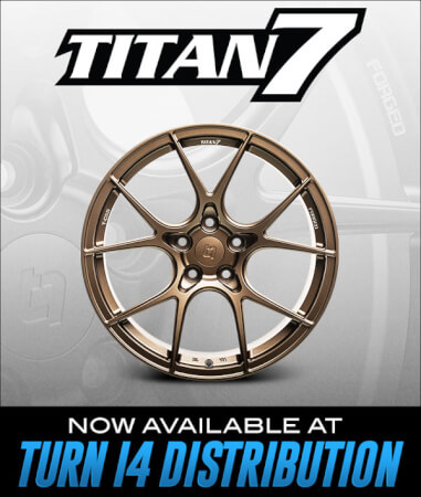 Titan 7 Now Available at Turn 14 Distribution!