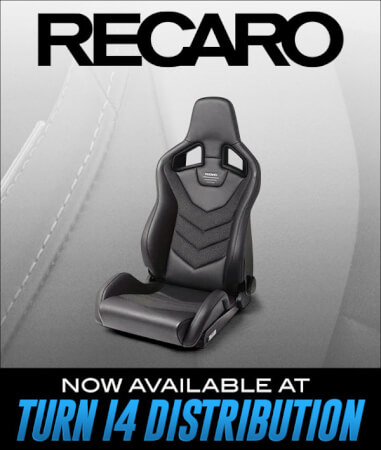RECARO Now Available at Turn 14 Distribution!