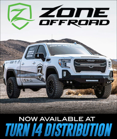 Zone Offroad Now Available at Turn 14 Distribution!