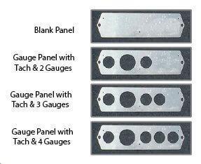 Aluminum Dashboard Kit