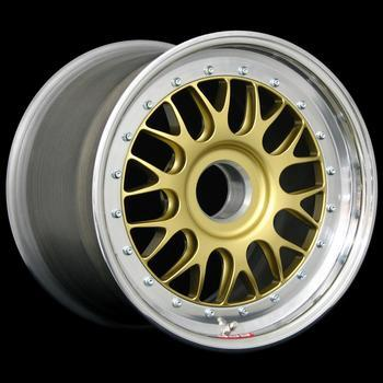 "E87 CL 16"" DIAMETER 3-PIECE RACING WHEELS"