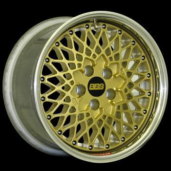 "E50 Flat 15"" DIAMETER 3-PIECE RACING WHEELS"