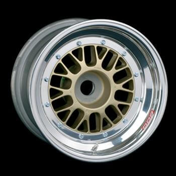 "E13 CL 13"" Diameter 3-Piece Racing Wheels"