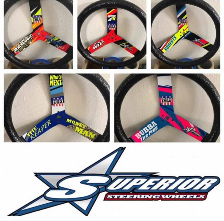 Custom Printed Steering Wheels