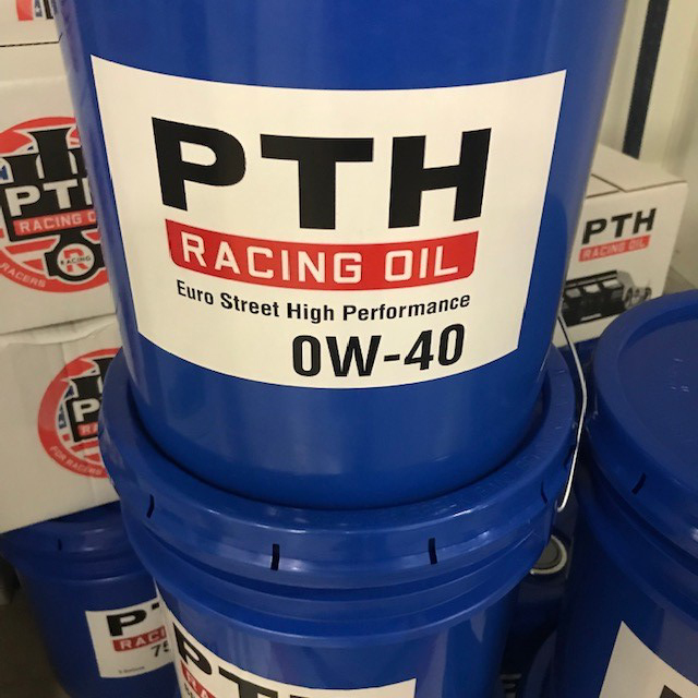 PTH Racing Oil 5 gallon pail