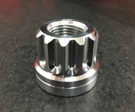 12 Point Billet Aluminum Lug Nuts