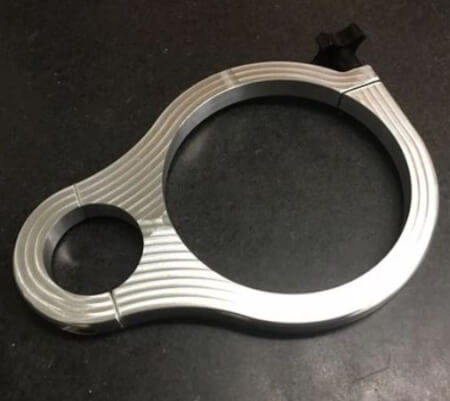 Billet Aluminum Bottle Clamp for Roll Cage Tube