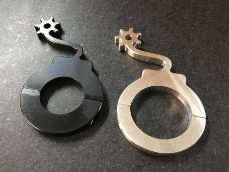 Billet Aluminum Helmet Hook