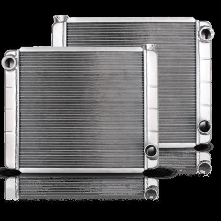 Interchangeable Inlet Radiators