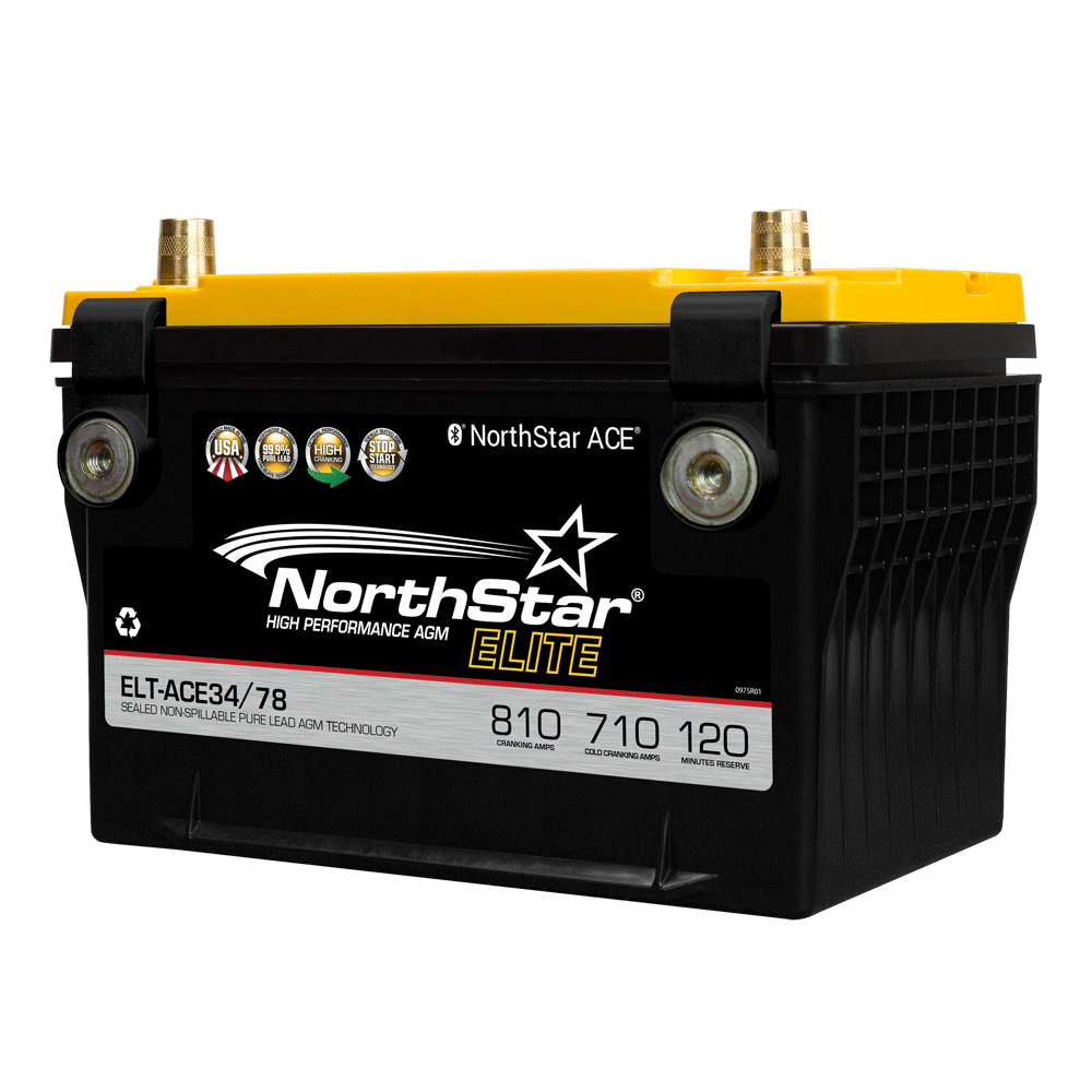 NorthStar ELT-AGM34/78 ELITE battery