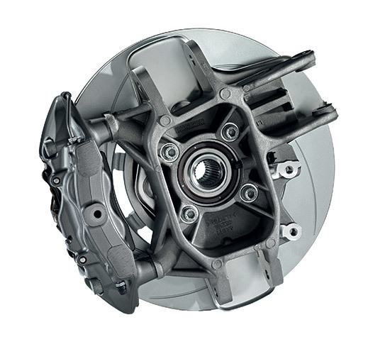 Aluminum Suspension Components