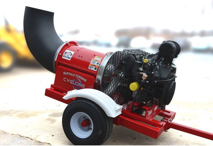 Industries First Electronically Fuel Injected Debris Blower