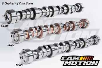 LOW LASH SOLID ROLLER CAMSHAFTS
