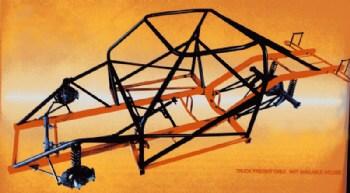 Ladder Bar / Strut Complete Chassis