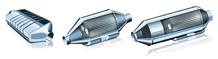 HJS Diesel Particulate Filters (DPF) for Motorsport