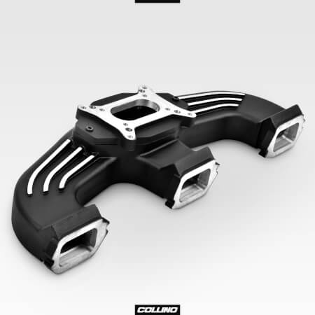 Inline 6L Chevy intake manifold