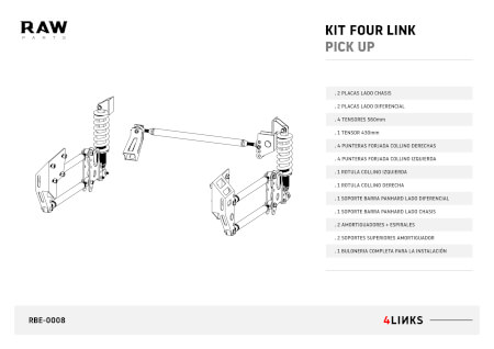 Truck Rear End - Four Link System