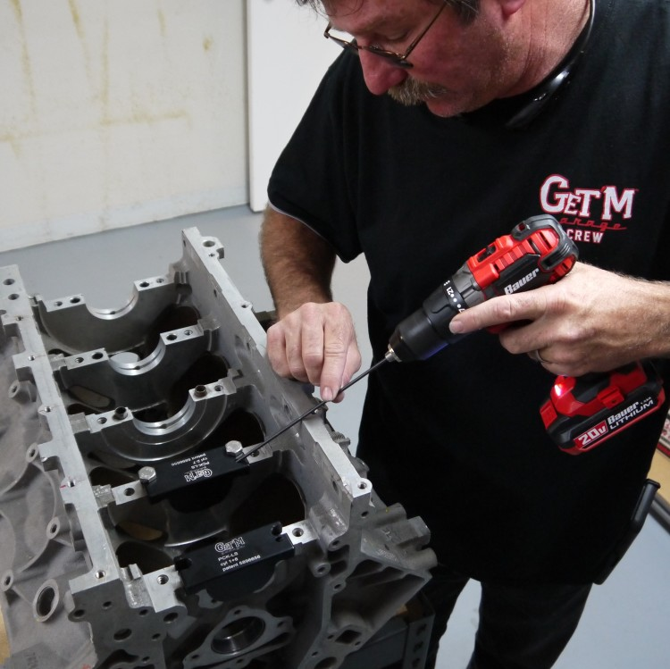 GET'M Garage's Patented Piston Cooling System