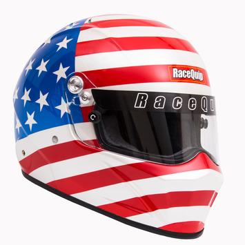 "VESTA15 ""America"" Snell SA2015 Full Face Helmet"