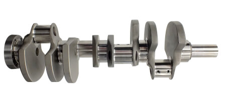 Unique Fully Counterweighted  LS Crankshaft From Dart