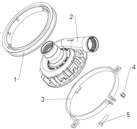 EWP Mounting Bracket Kit (115 / 130 / 150) (PART #8700)