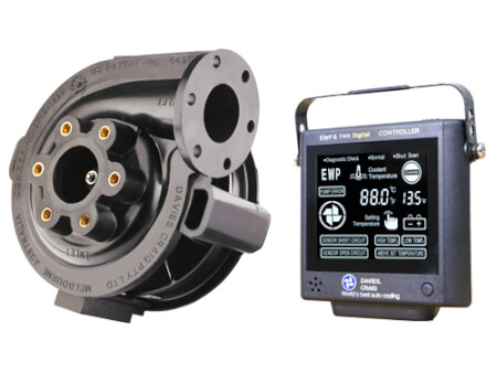 EWP80 Combo - 12V 80LPM/21GPM Remote Electric Water Pump