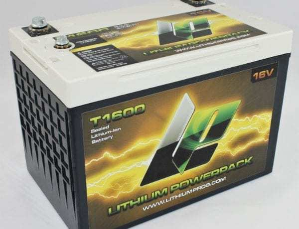 T1600 16V 20AH Lithium Ion Racing Battery