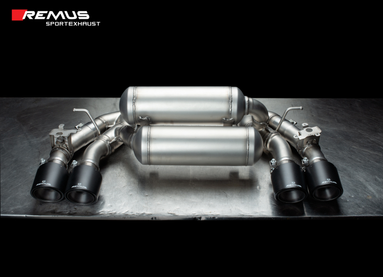 REMUS Axle Back RACE Exhaust for BMW F87N M2 Competition