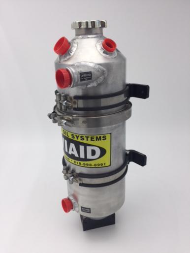 "2.0 Gallon 6X20"" Dry Sump Oil Tank"