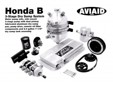 Honda B 3 Stage Dry Sump System