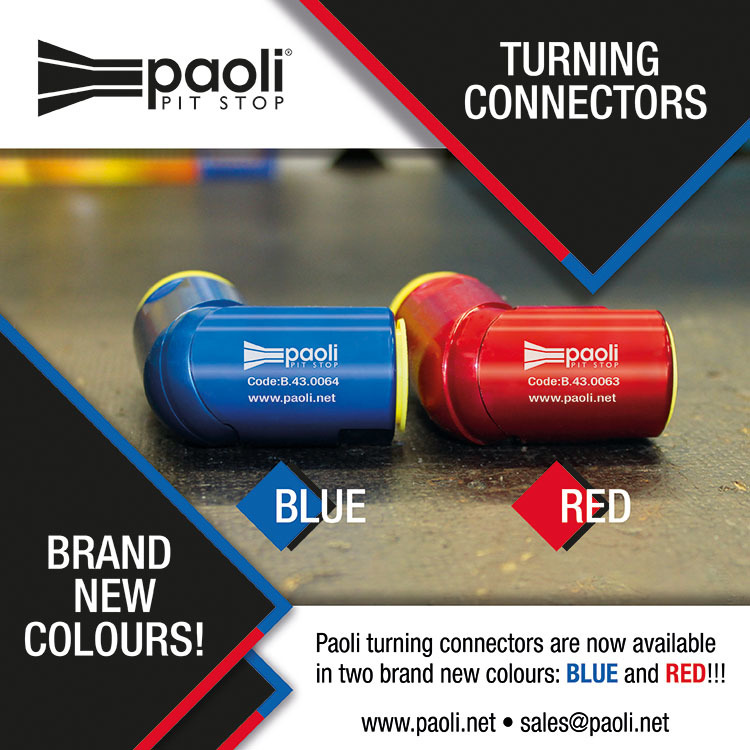 PAOLI TURNING CONNECTORS - NEW COLOURS!