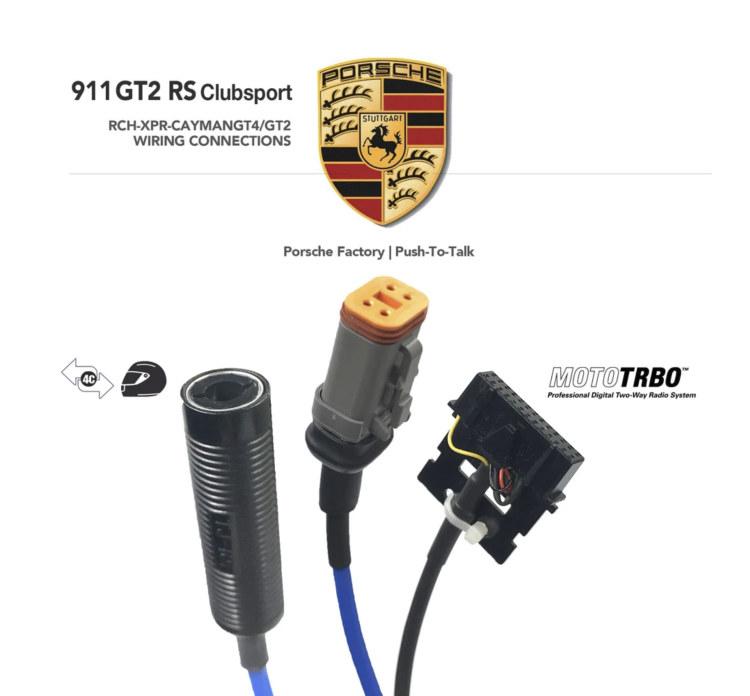 Porsche GT2 RS Clubsport Car Wiring Harness | Racing Radios