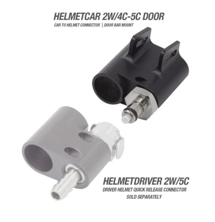 Helmet/Driver Quick Release System