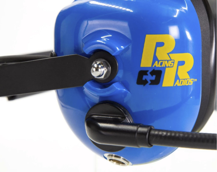 Racing Radios Premium Two-Way Radio Headset