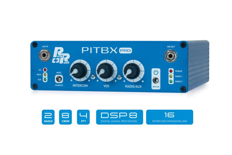 PITBX Pro Intercom | DSP8