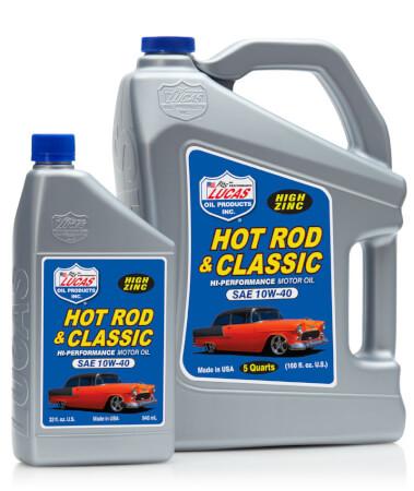 Lucas Hot Rod & Classic Car 10W-40 Motor Oil