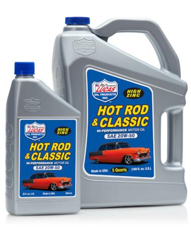 Lucas Hot Rod & Classic Car 20W-50 Motor Oil