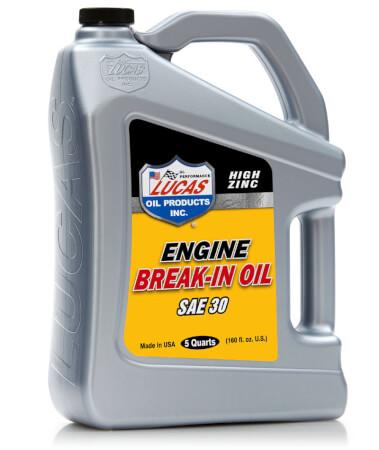 High Zinc Engine Break-In Oil  - SAE 30 (5 QT)