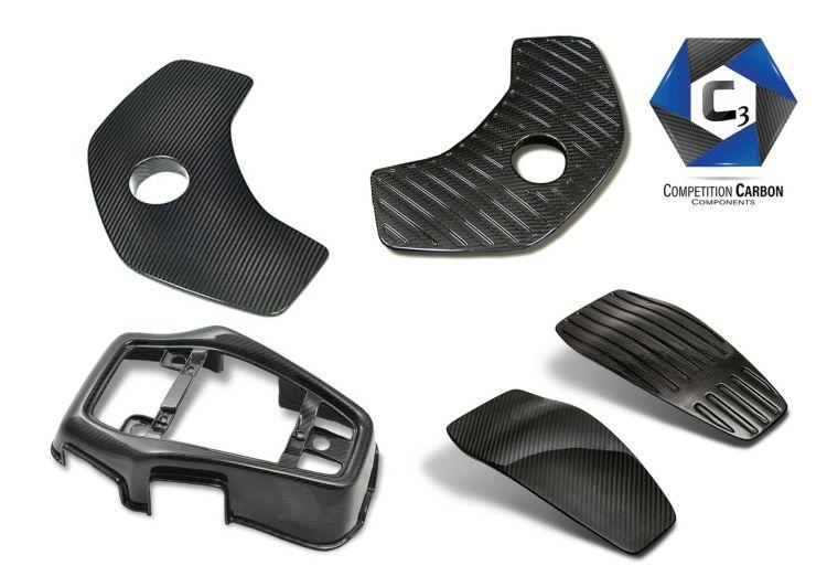 C3 Carbon Fiber Complete Kits